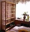 Regale mit Vorhang, für Dekoration oder Bücher, etc.